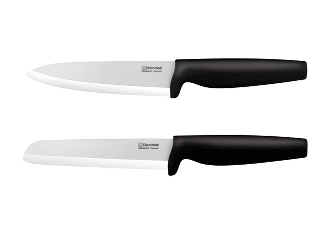 Бренд профессиональной немецкой посуды для кухни Röndell представляет набор керамических ножей Damian