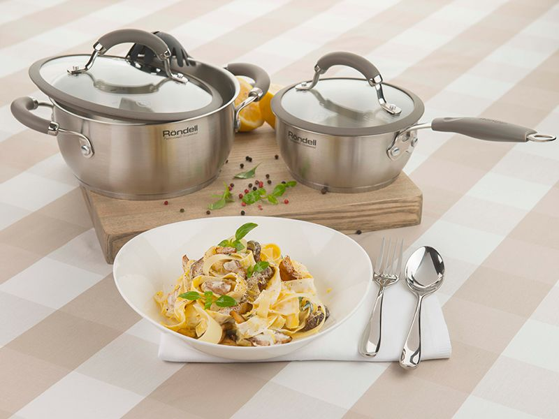 Коллекция посуды Balance от Rondell – надежность и гармония для воплощения кулинарных идей!
