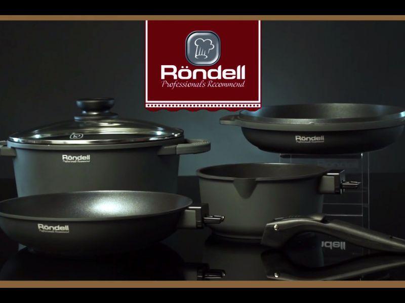 Бренд Röndell представляет видеоролик коллекции посуды The One