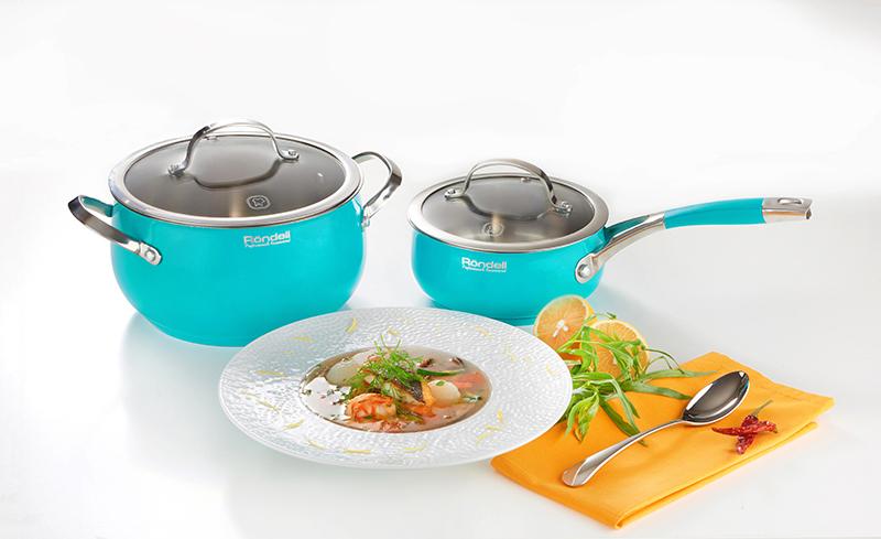 Коллекция посуды Turquoise от Röndell