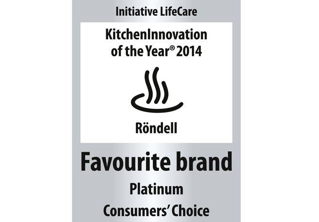 Бренд Röndell получил престижную платиновую награду «Favourite brand / Любимый бренд «2014»