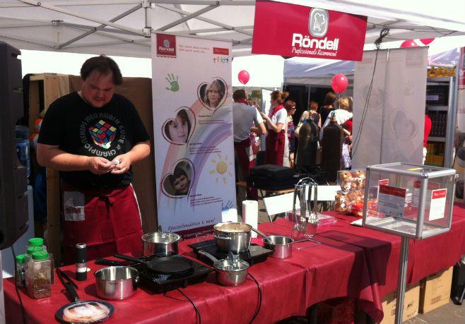 Бренд Röndell стал участником кулинарного фестиваля « Вкусно & Полезно»