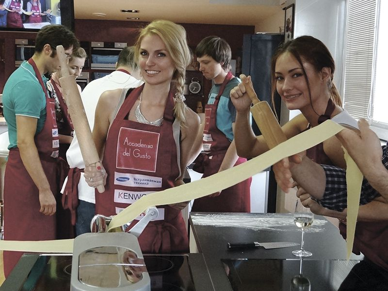 Академия Высокой Итальянской Кухни Accademia del Gusto