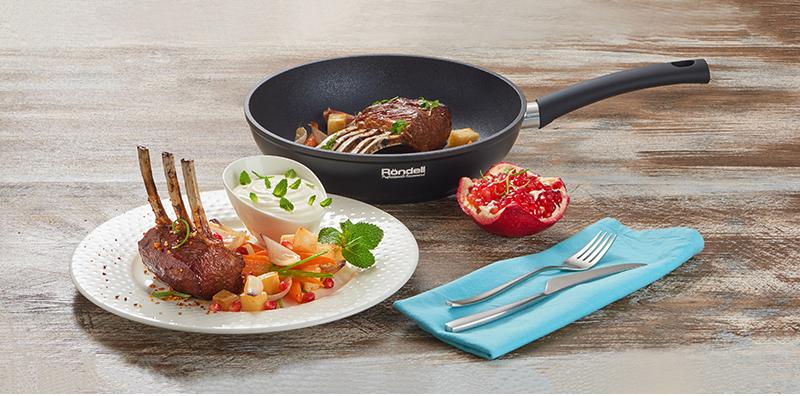 Коллекция сковород  Mustang от Röndell