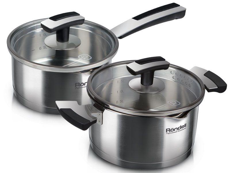 Бренд профессиональной посуды для кухни Rondell представляет коллекцию посуды из нержавеющей стали Eskell